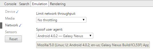 UserAgent-Chrome-Options