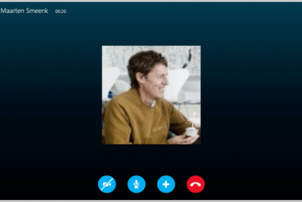 skype call and fax