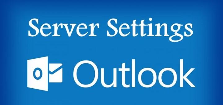 OutlookServerSettings