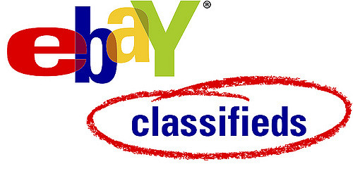 Ebay Classifieds - craigs list alternatives