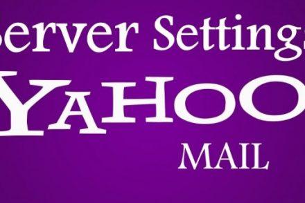 YahooMailServerSettings