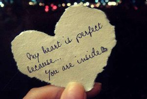 My heart is perfect dp pic
