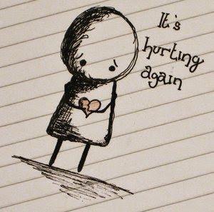 Heart hurting Whatsapp DP