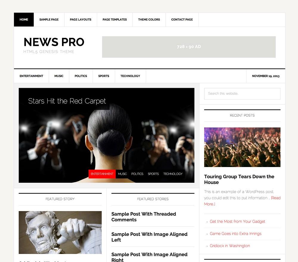 News Pro Html5