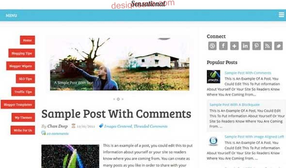 Sensational-Responsive-Blogger-Templates