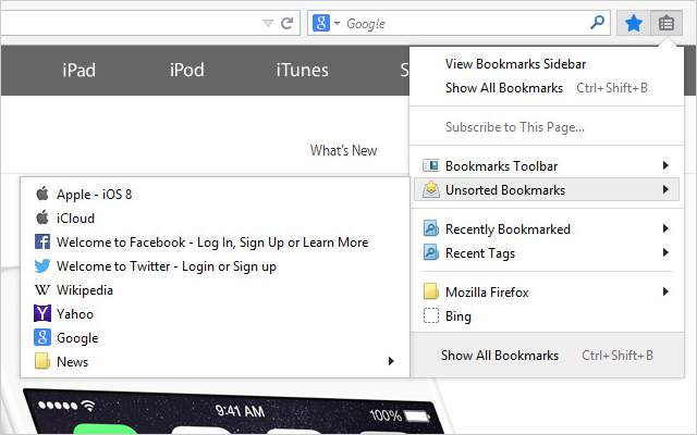 iCloud-Bookmark-manager