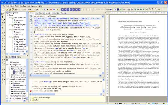 Led Latex Text Editor