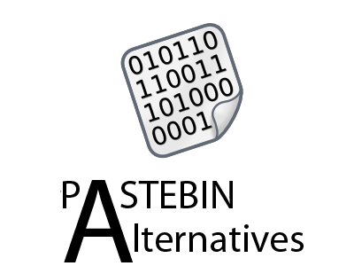 Pastebin Alternatives