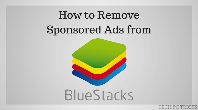 Remove Sponsored Ads from Bluestacks