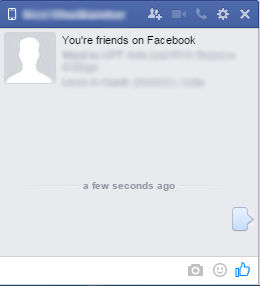 Send Blank Message On Facebook