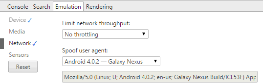 UserAgent-Switcher-Settings How to Change the User Agents in Firefox, Chrome and IE