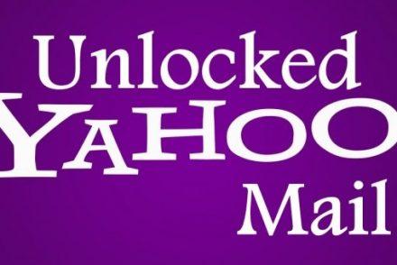Unlock Yahoo Email Account