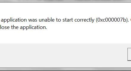 0xc00007b-error-Fix