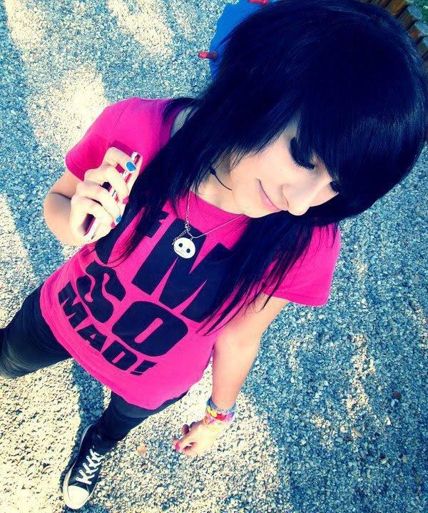 Punk girl whatsapp