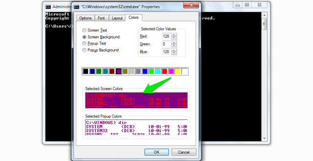 change-command-prompt-colour