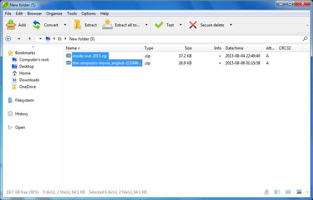 Winrar-alternatives-4 10+ Best Free WinZip and WinRAR Alternatives